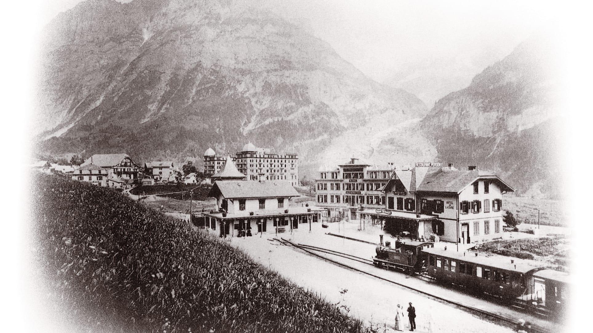 Jungfrau bob nostalgie 1001 bahnhof grindelwald 1895