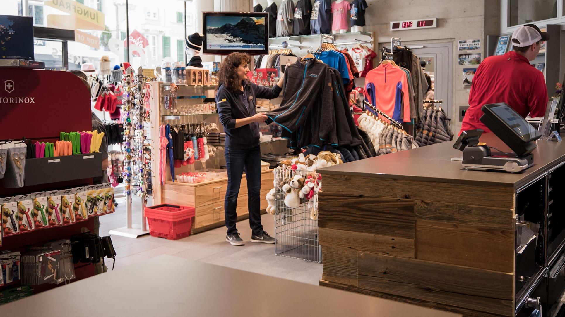 Shop Assistant Andrea Bohren 1