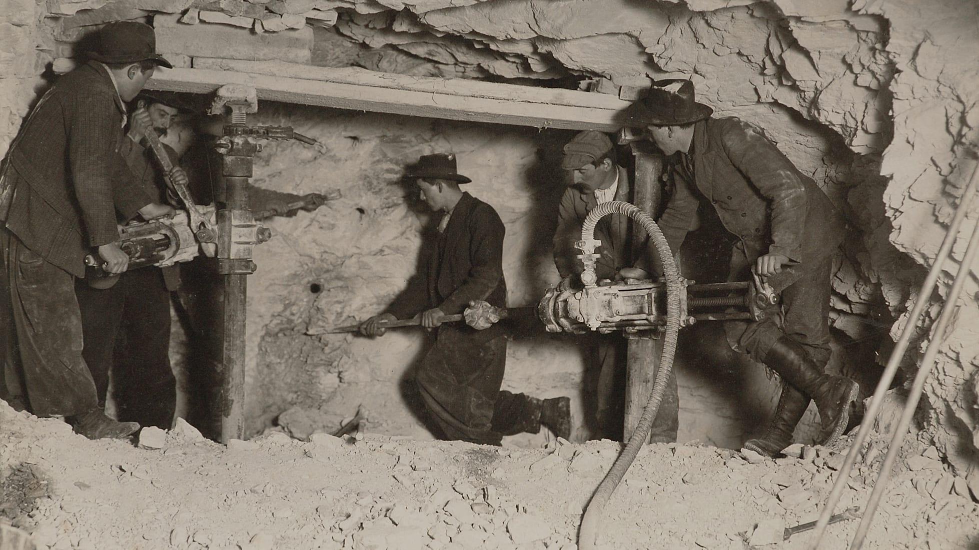 Jungfrau bahn nostalgie jungfraujoch druchstich 1912 02