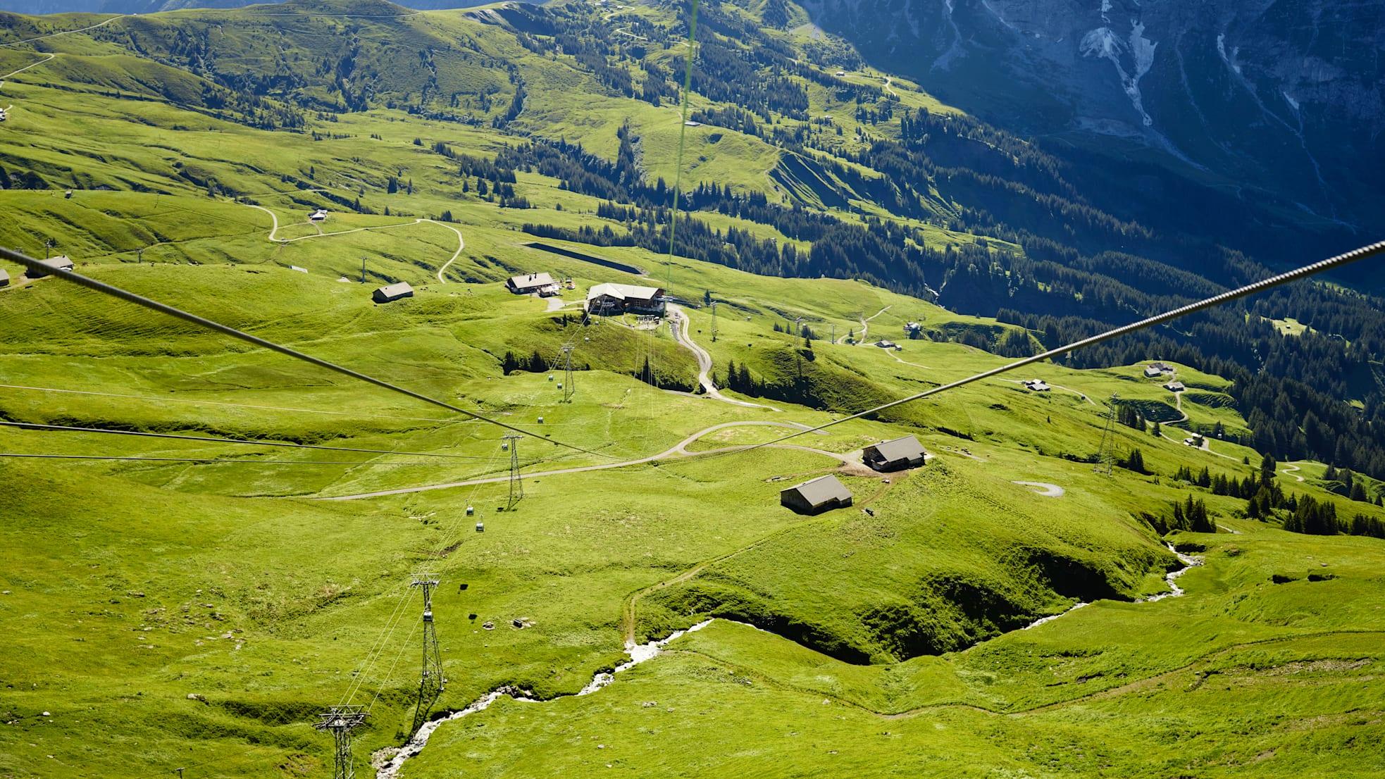 First Flieger Adventure Alp Schreckfeld Sommer