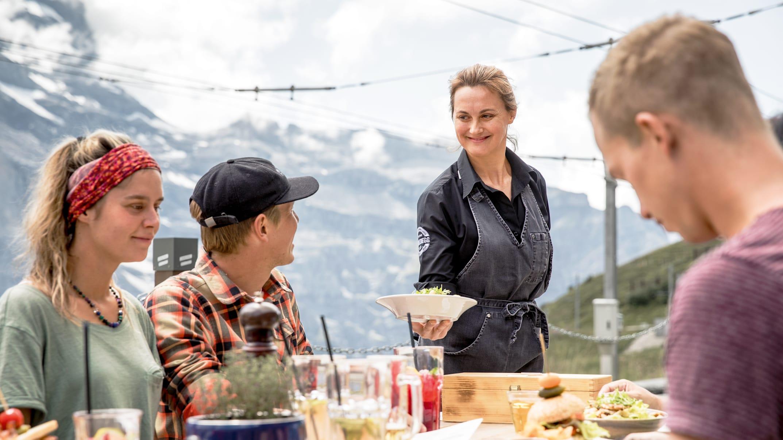 Bergrestaurant Kleine Scheidegg Essen