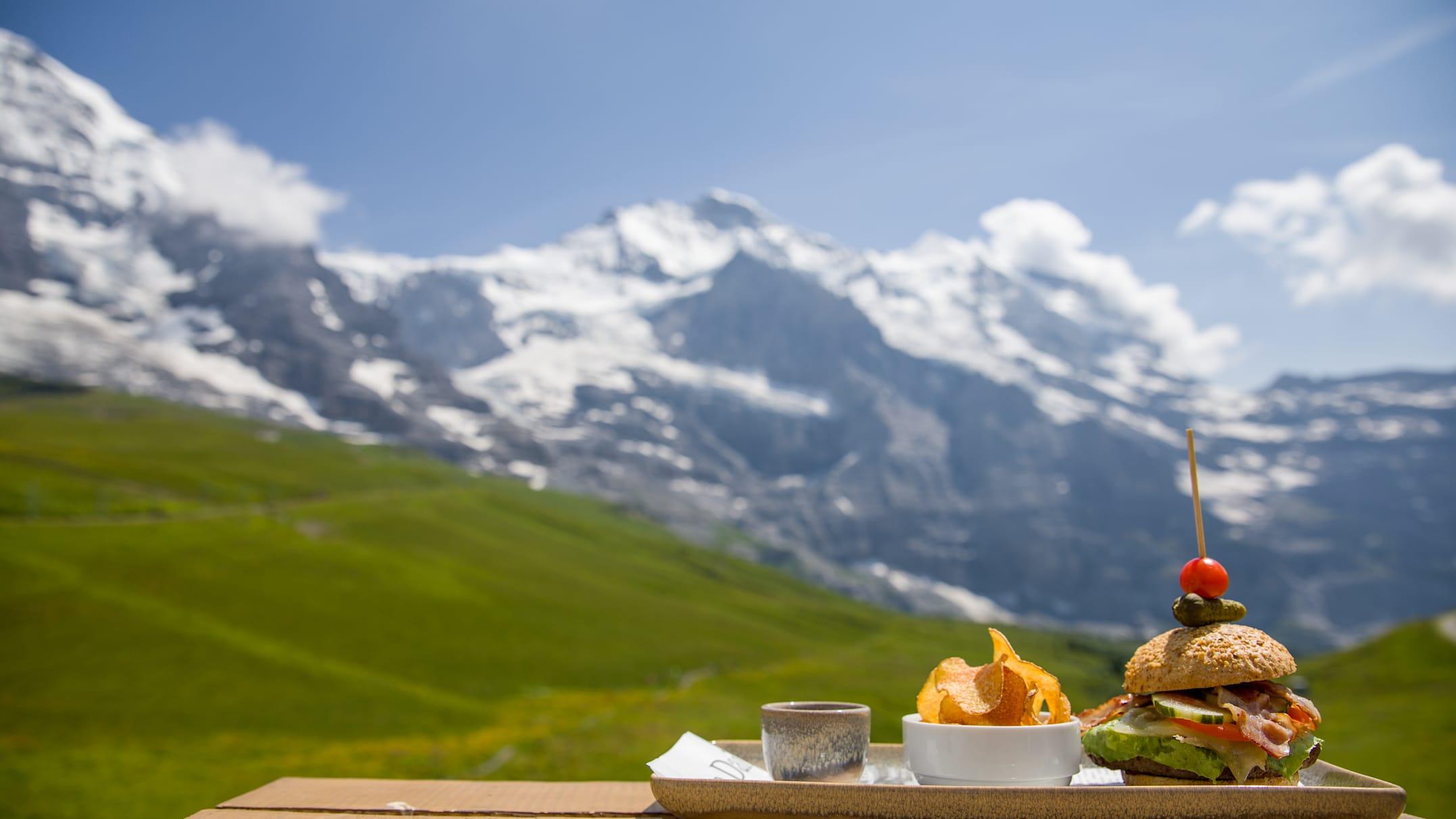 Kleine-Scheidegg mountain restaurant, gastro, season, Kleine-Scheidegg, summer, jungfrau.ch