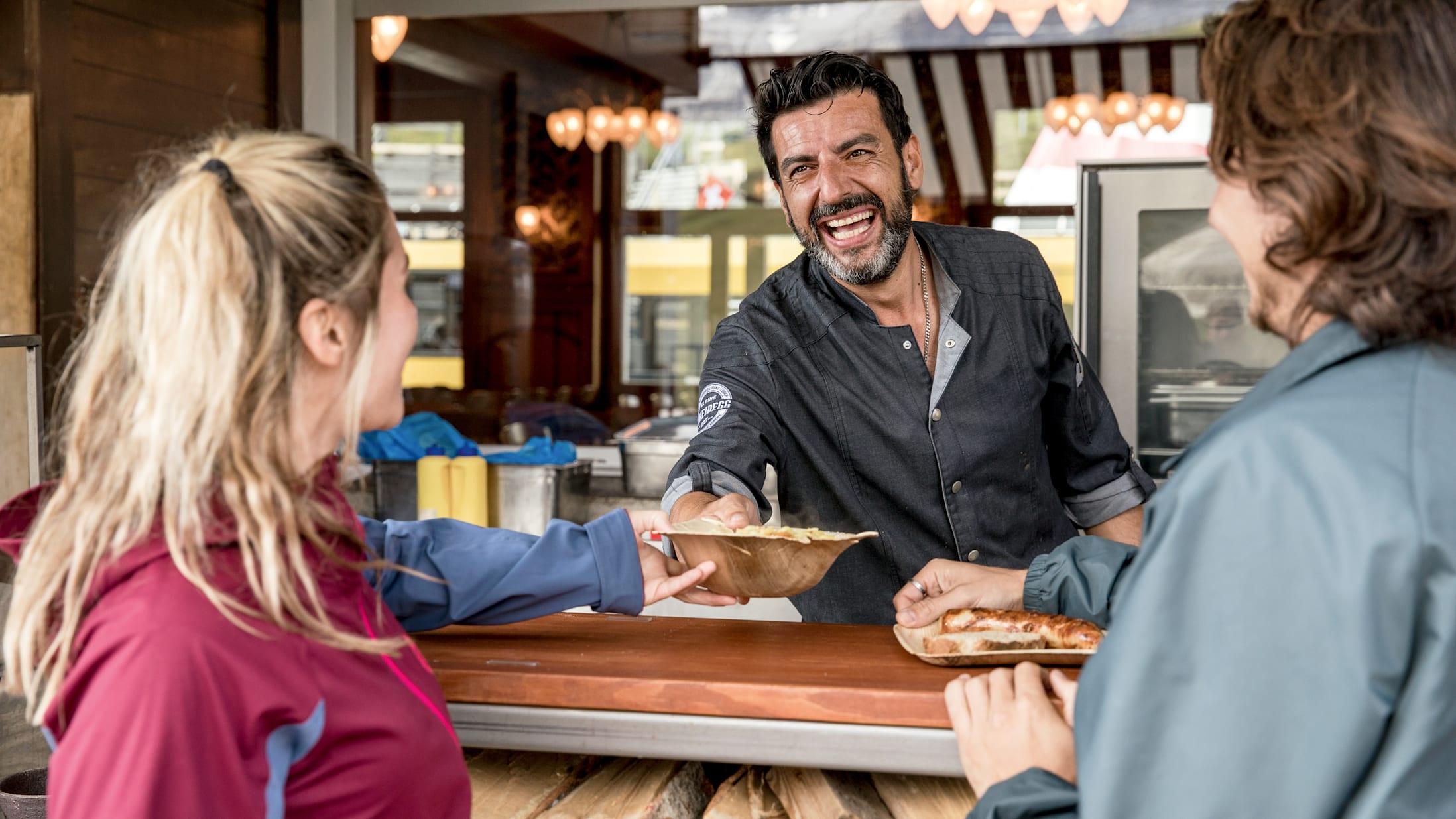 Bergrestaurant Kleine Scheidegg Bar Essen