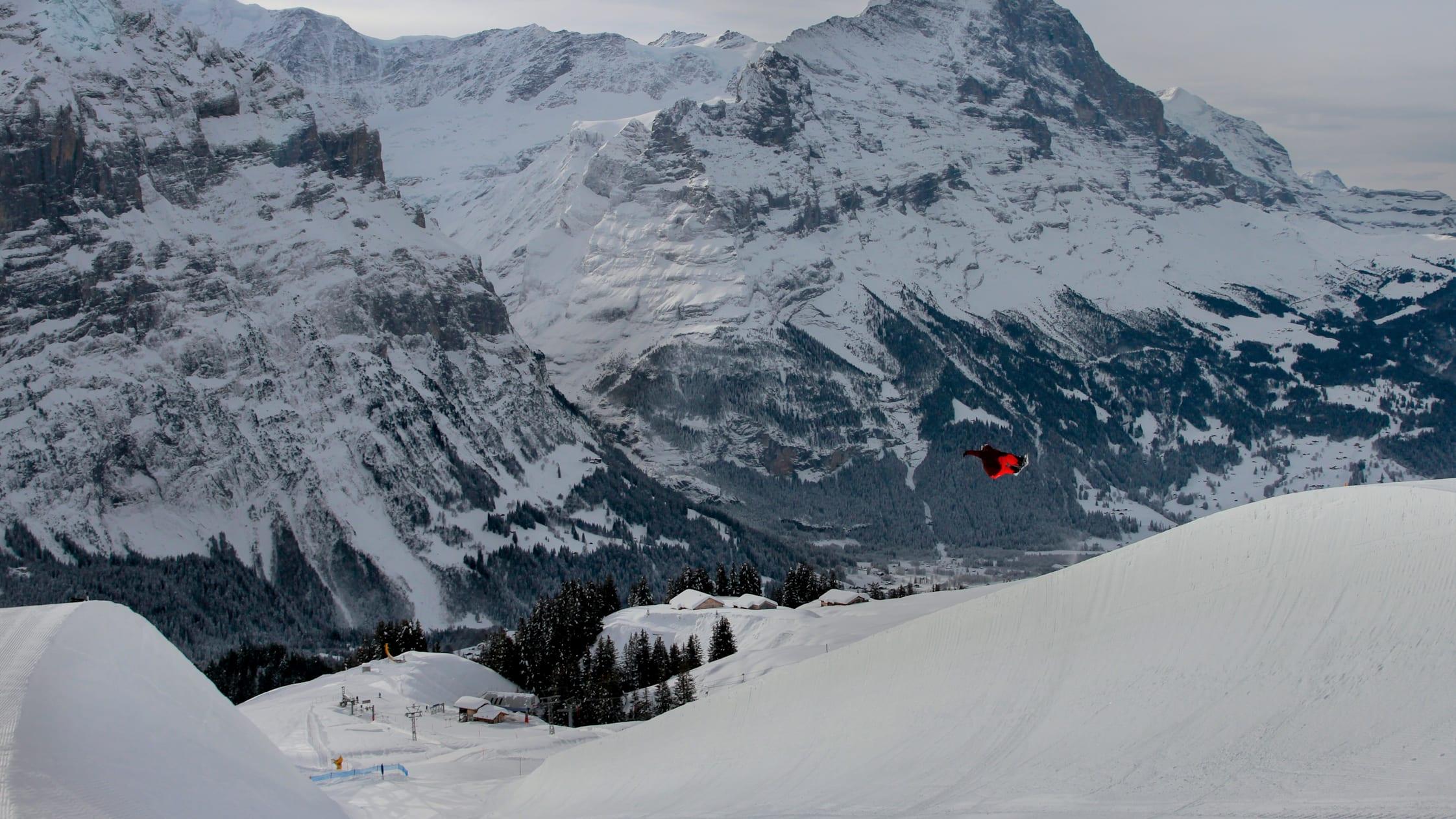 Snowpark First Eiger 2