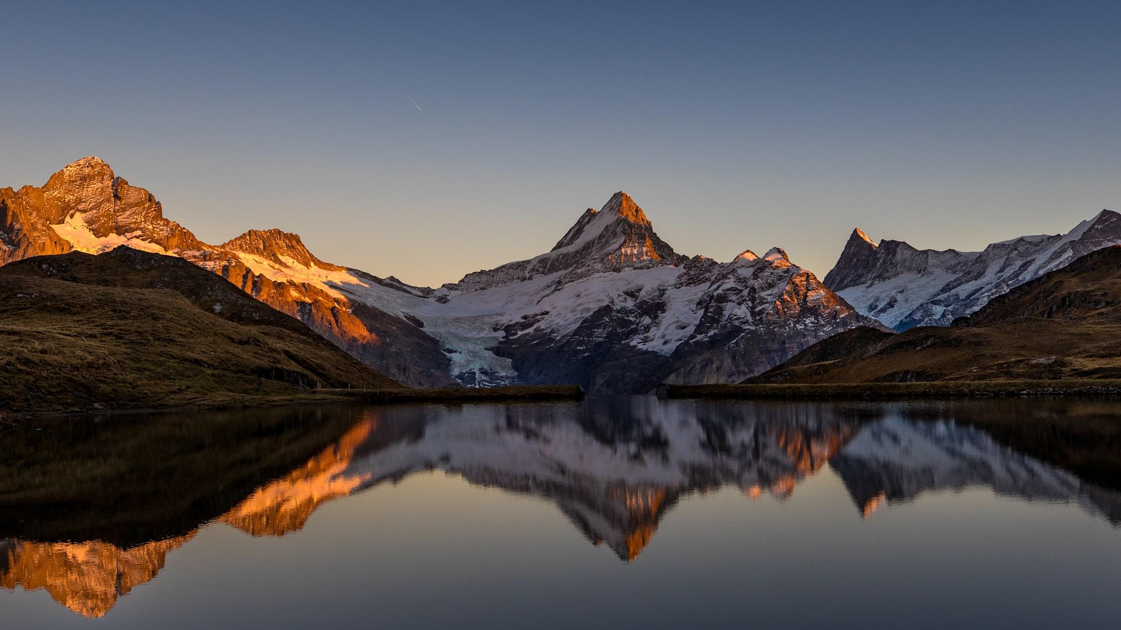 Abend-Morgenstimmung, Angebote, Bachalpsee, Erlebnisse-Aktivitaeten, Grindelwald-First-Sommer, Jahreszeit, Jungfrau-Travel-Pass, Sommer, Verhältnisse, jungfrau.ch