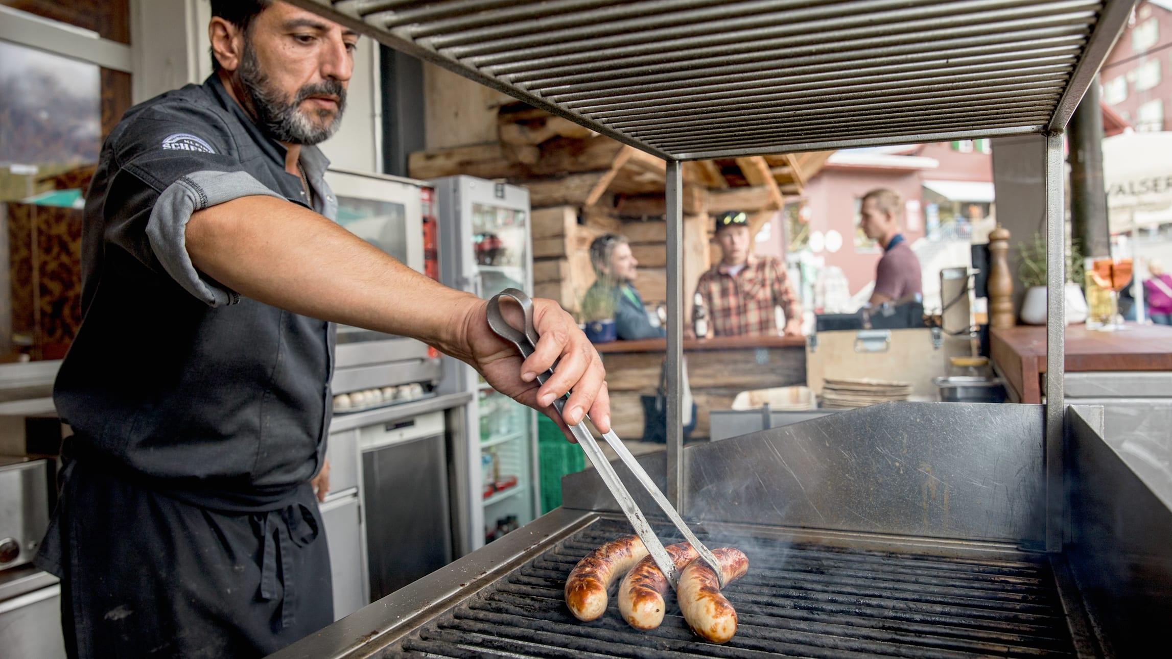 Bergrestaurant Kleine Scheidegg Bratwurst