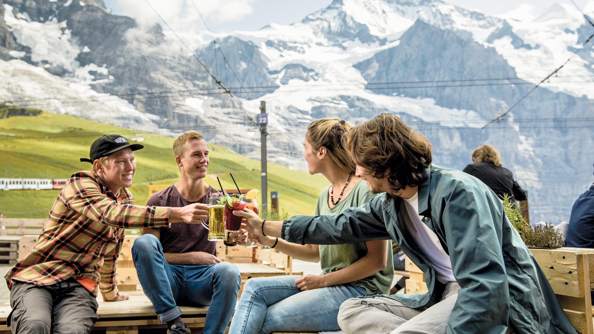 Bergrestaurant Kleine Scheidegg Getraenke
