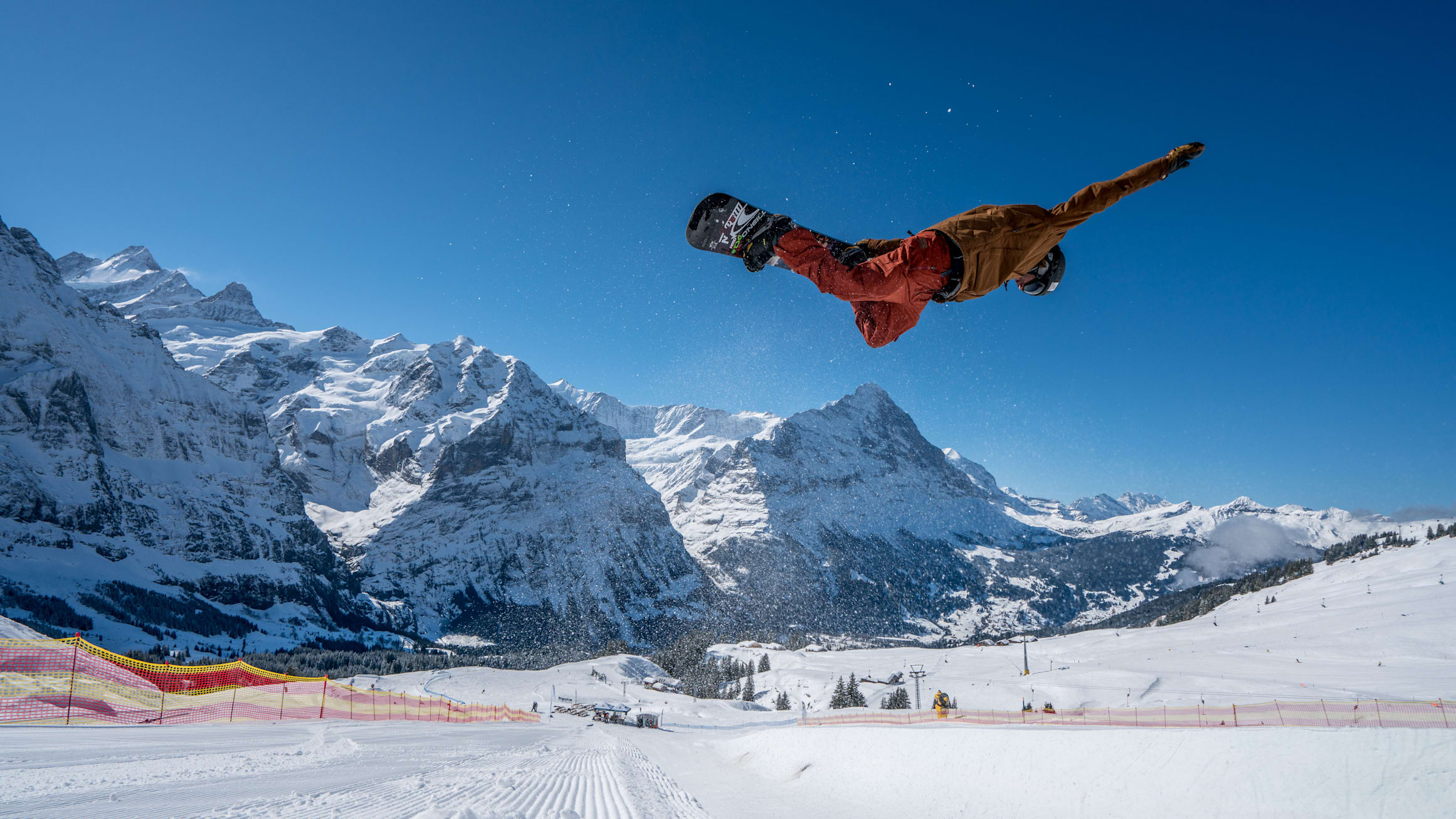 White Elements Snowpark Grindelwald First