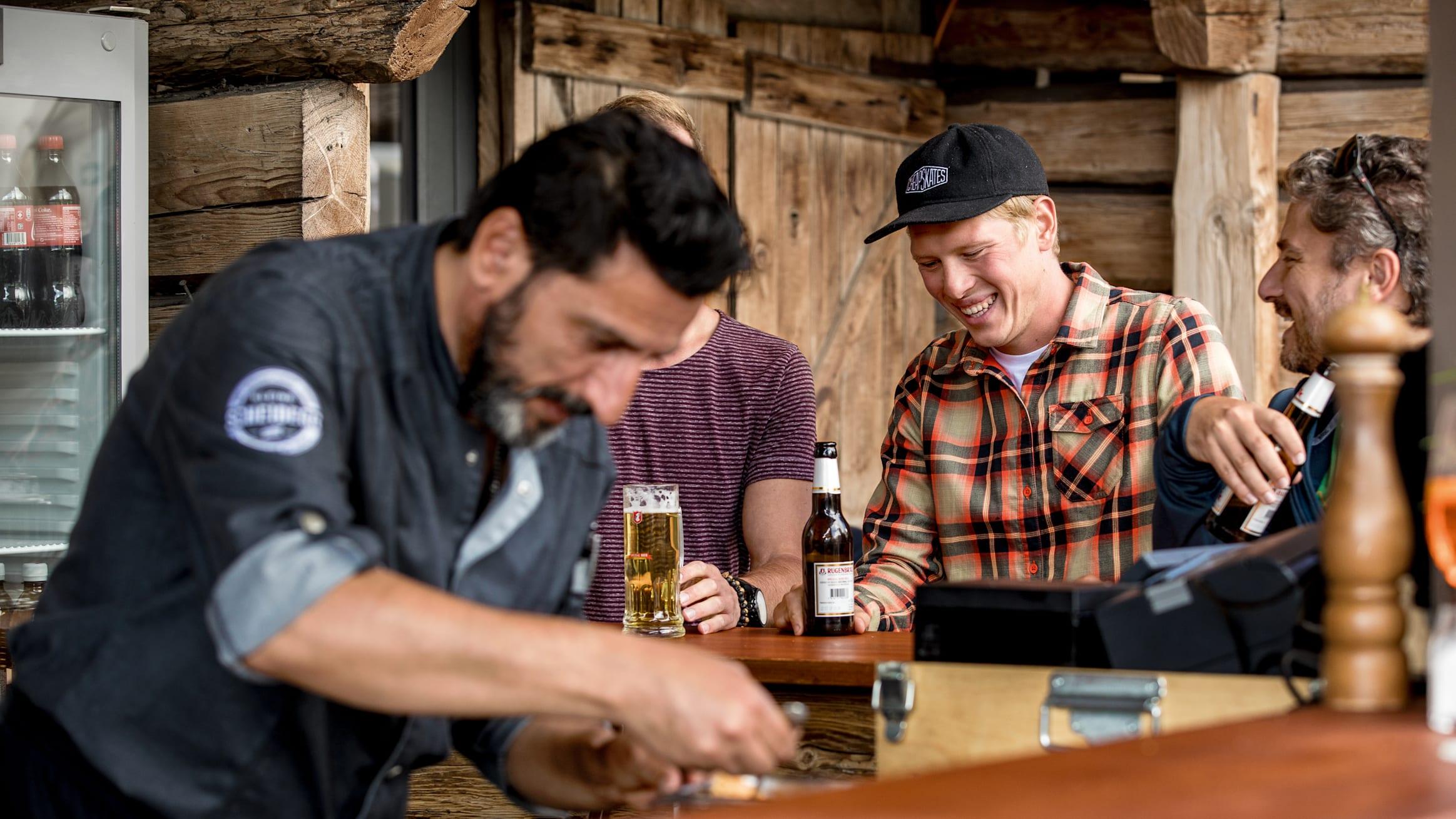 Kleine Scheidegg Mountain Restaurant bar drinks