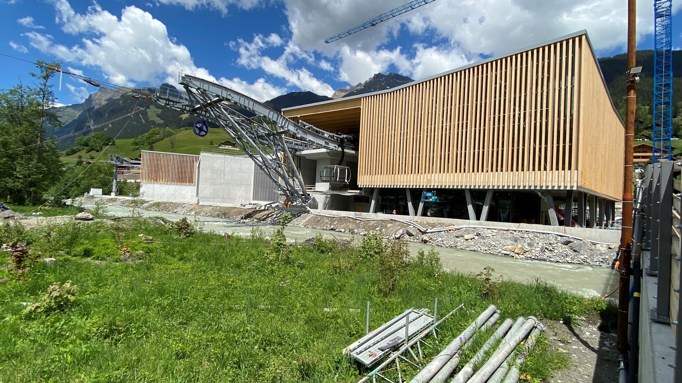 Talstation Eiger Express eins kl
