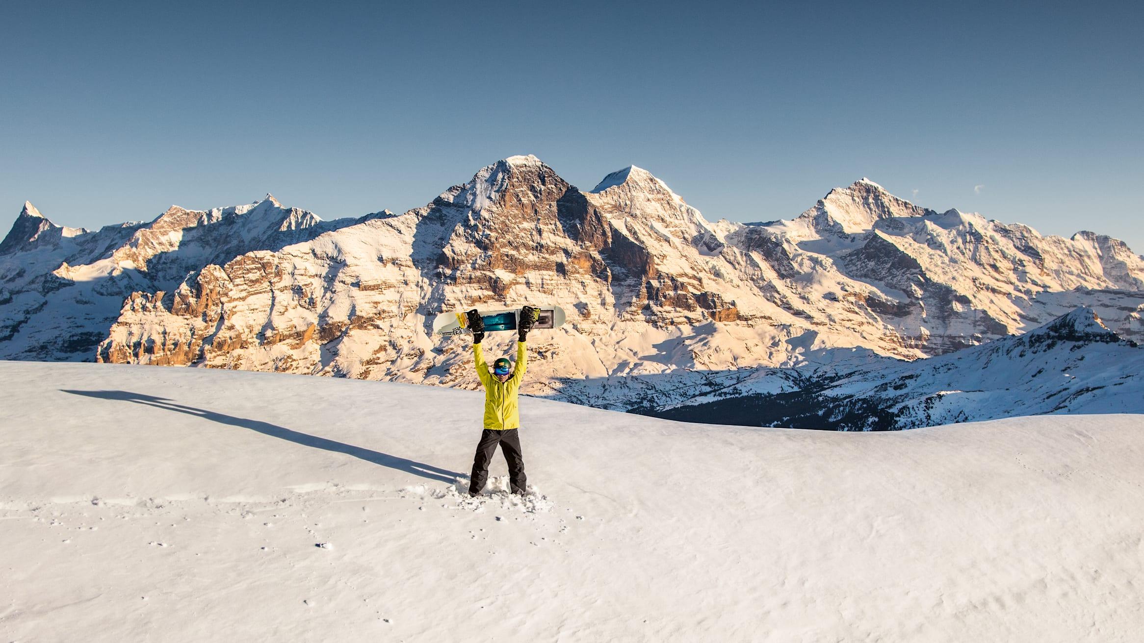 Jungfrau Ski Region Eiger Moench Jungfrau