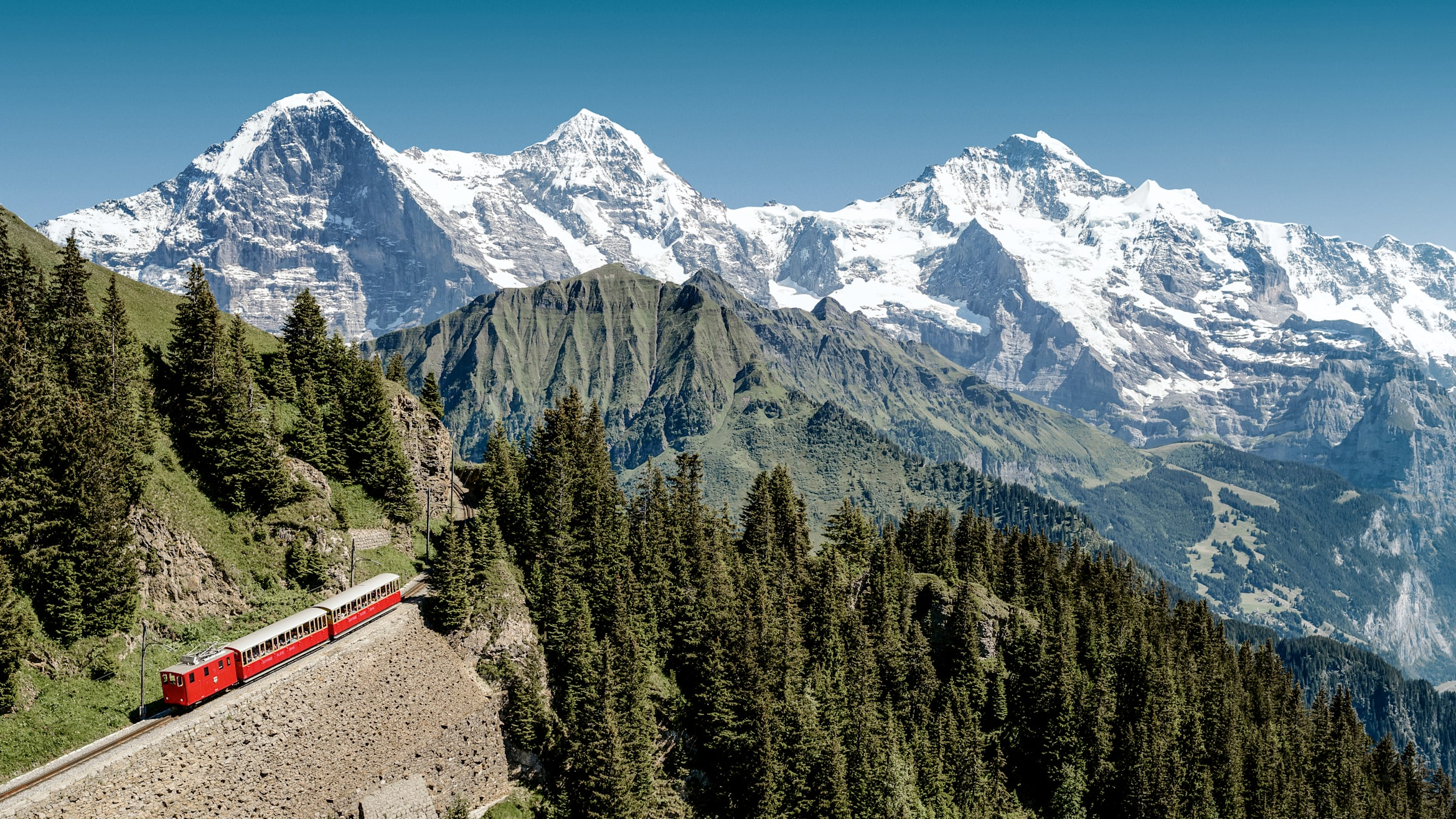Railway machines, season, Schynige-Platte, Schynige-Platte-Railway, summer, jungfrau.ch