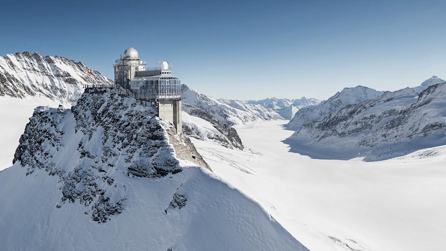 Jungfraujoch Top of Europe Key visual