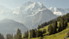 Bergbahn lauterbrunnen muerren eiger moench jungfrau sommer