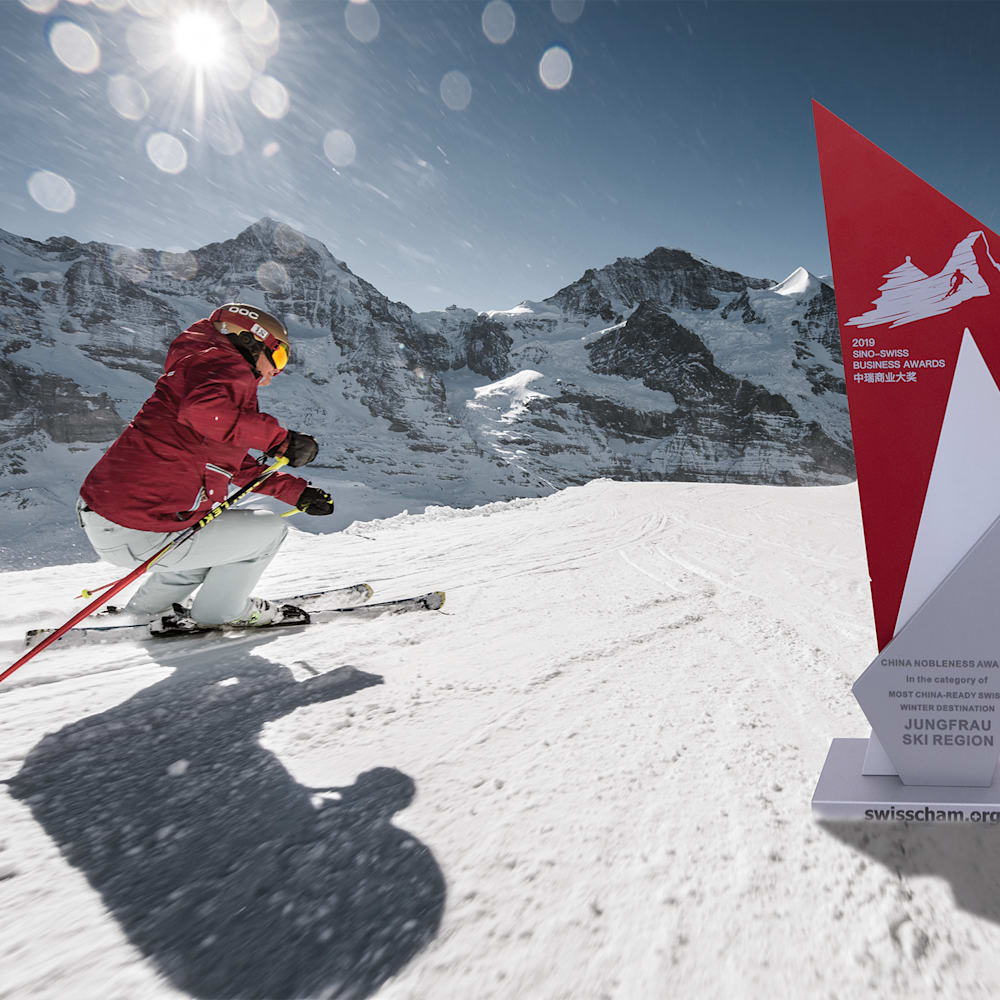 Sino Swiss Business Award Picture Jungfrau Ski Region
