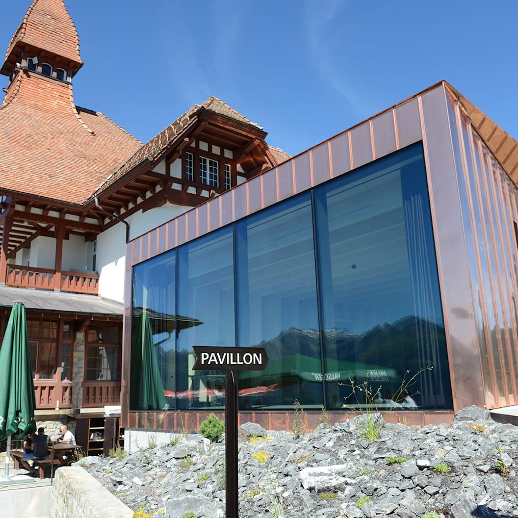 Der neue Pavillon