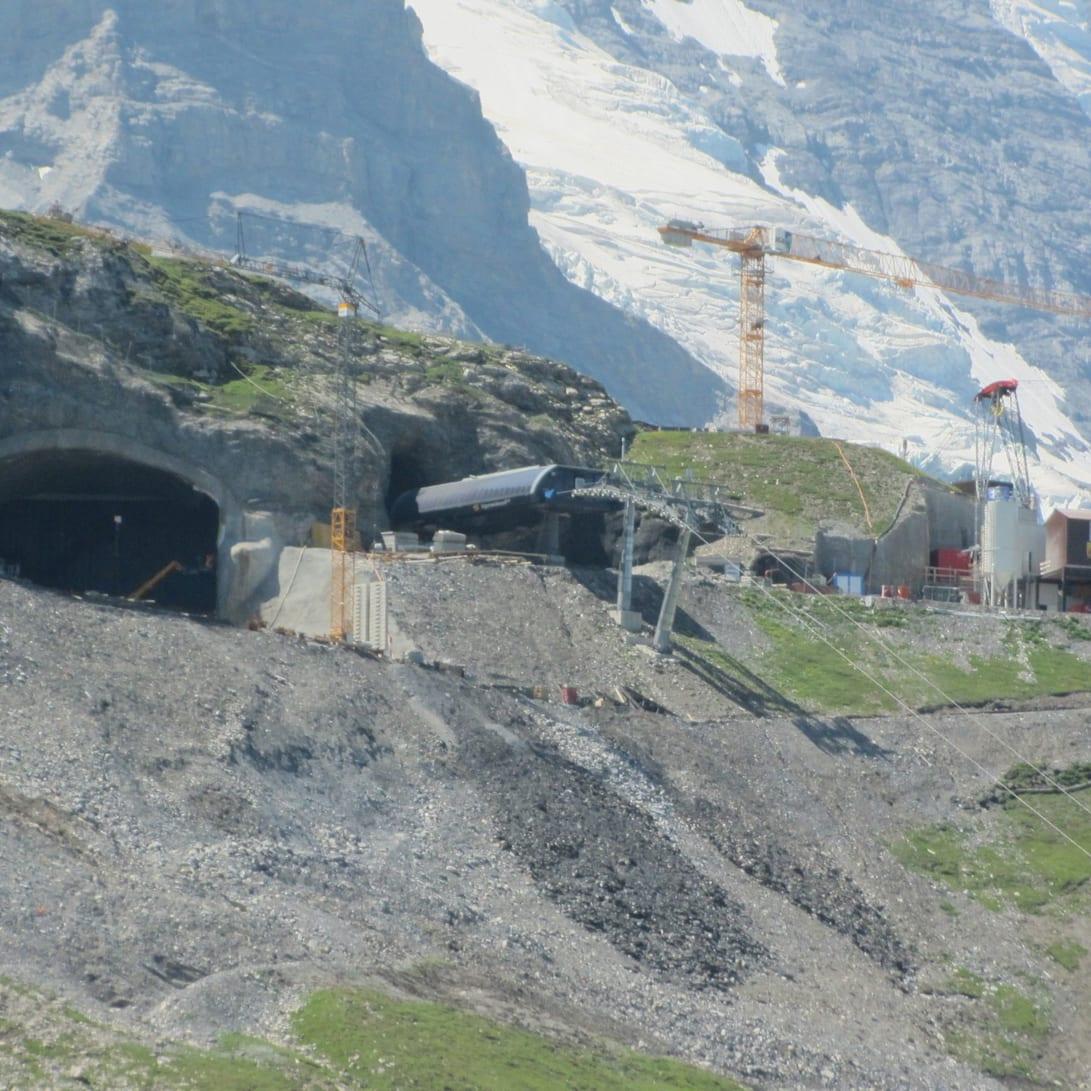 Berg Station Eiger Express