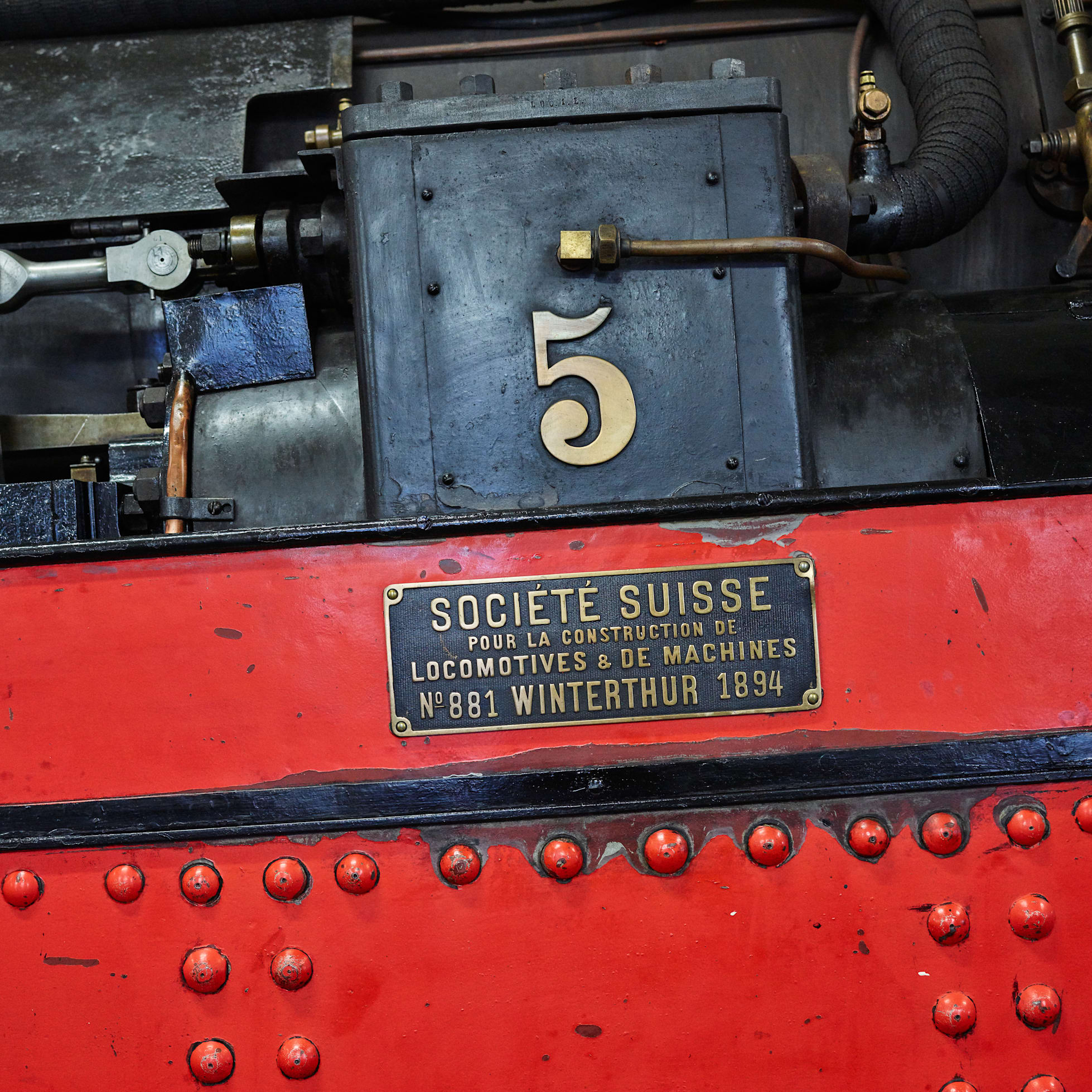 Schynige Platte Bahn Dampflokomotive Detail