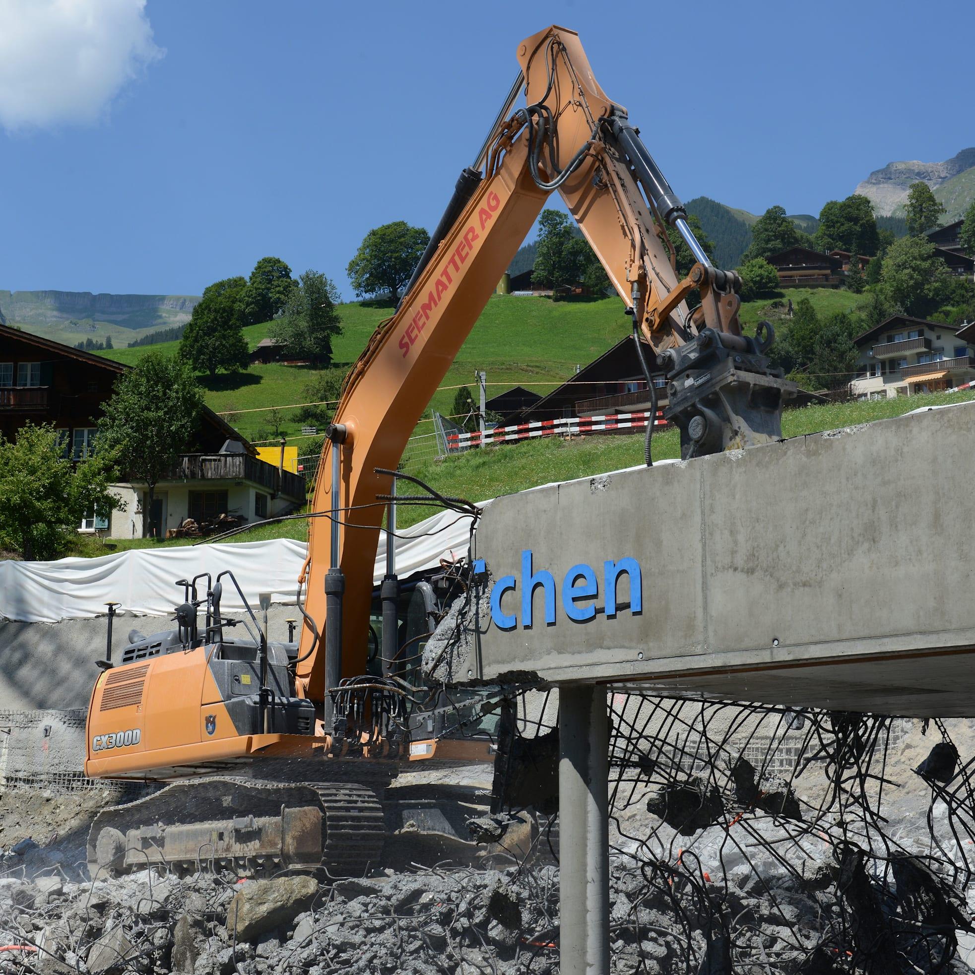 Demolition GGM summer 2018