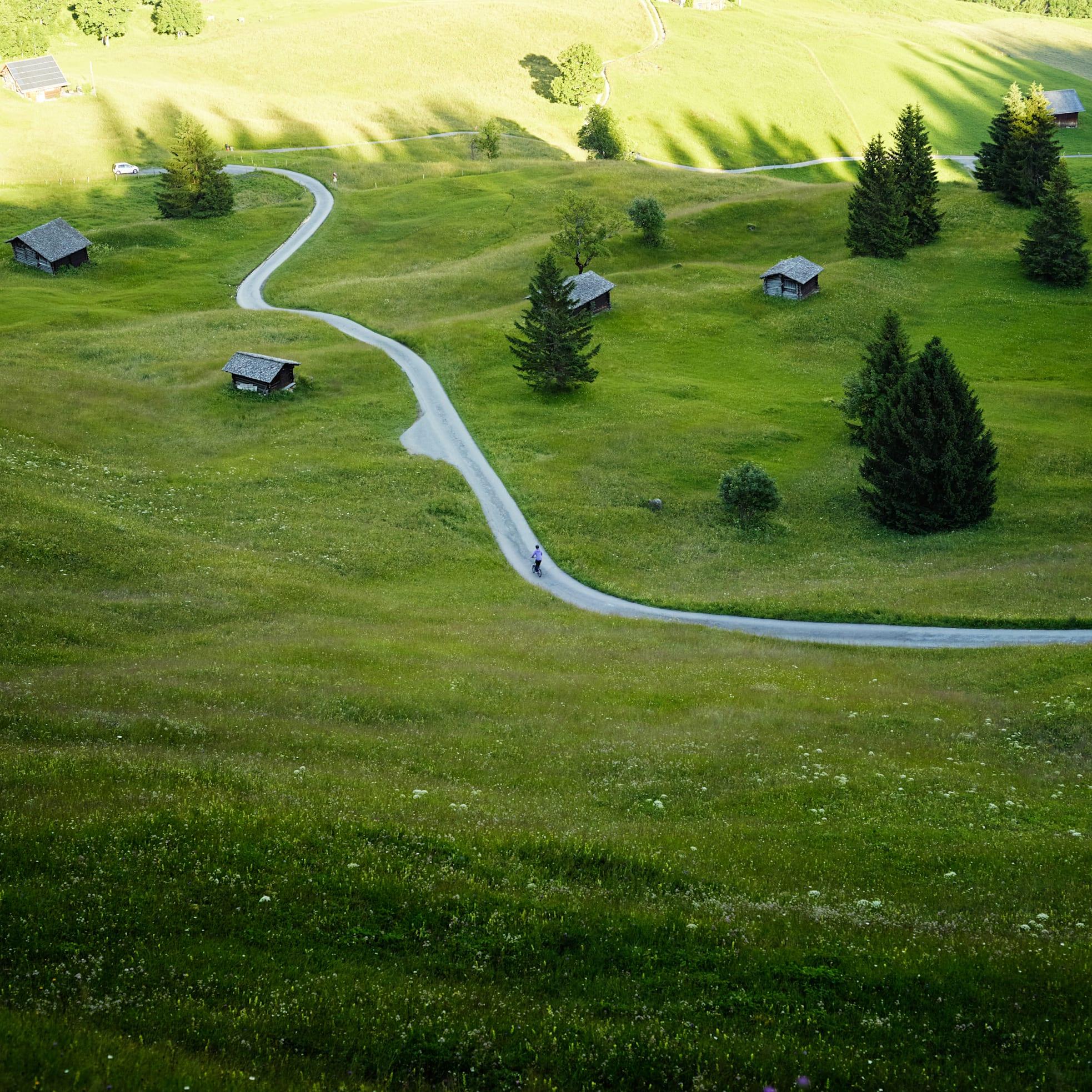 Trottibike Adventure Strecke Bort Grindelwald Sommer