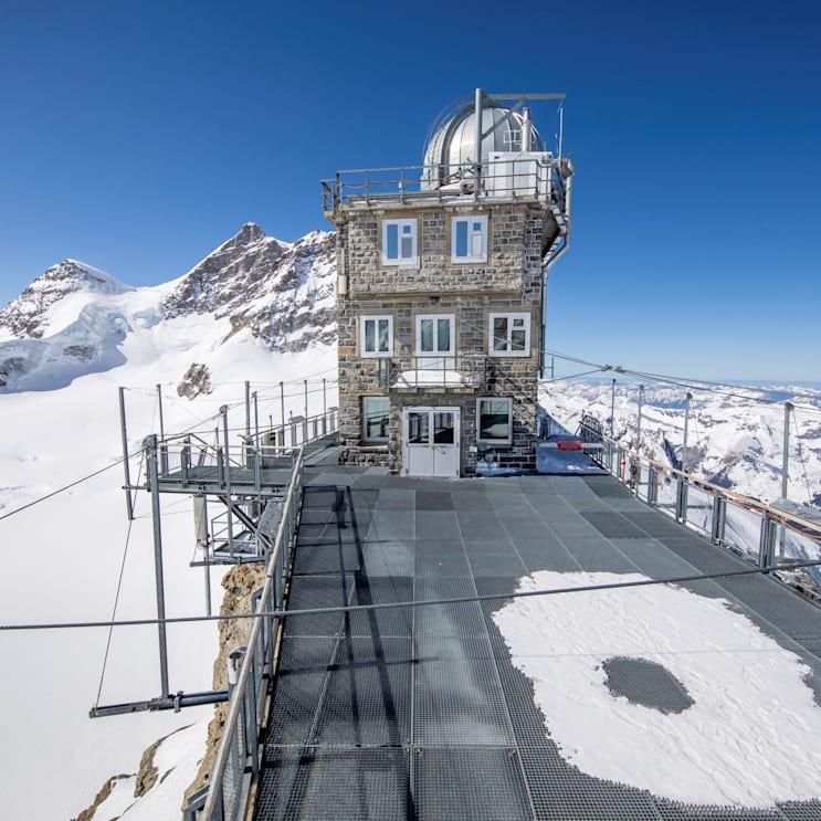 Jungfraubahnen, Jungfraujoch, Aletschgletscher, Jungfrau, Sphinx, Topofeurope