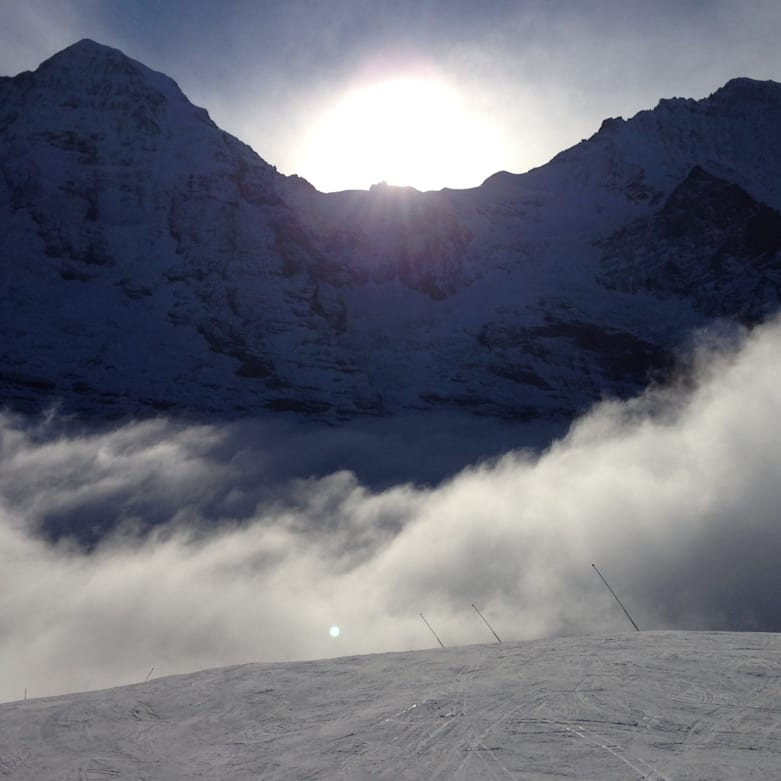 Wintersaisonstart in Grindelwald und Wengen Pisten bereit