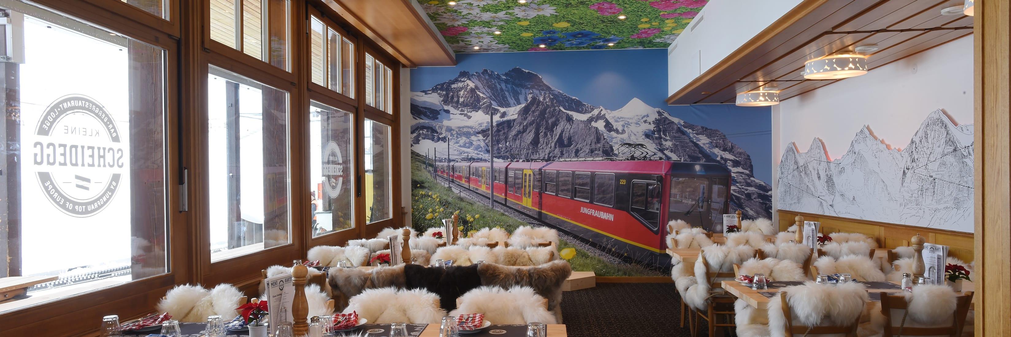 Bergrestaurant Kleine Scheidegg Jungfraustube