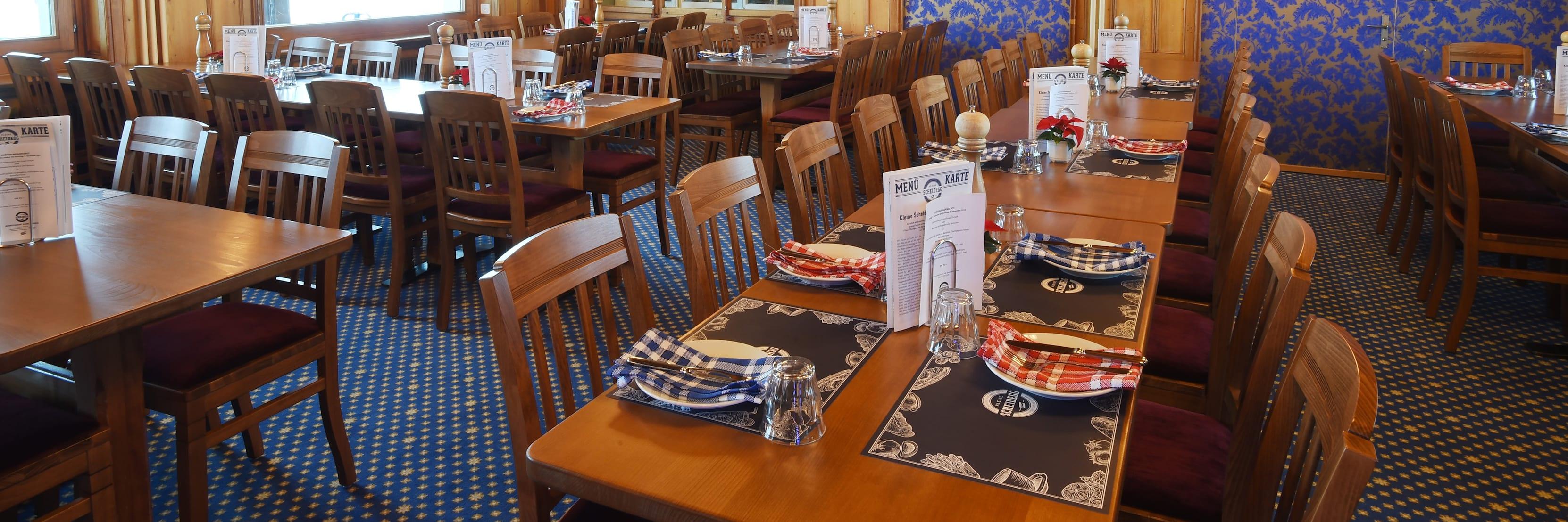 Bergrestaurant Kleine Scheidegg Eigerstube