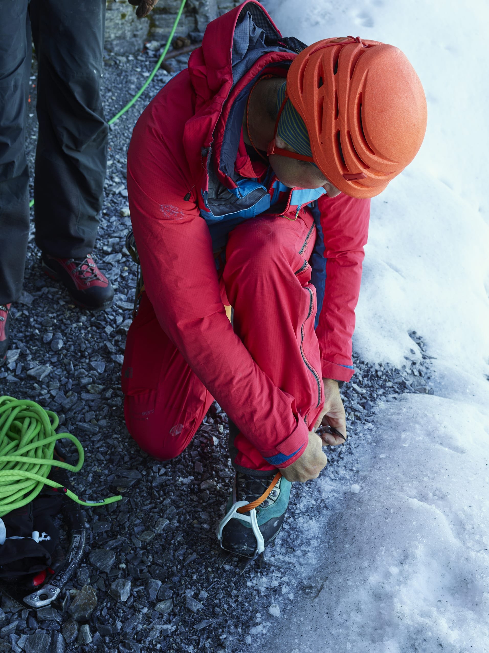 Bergfuehrer Vorbereitung Klettern Eigernordwand