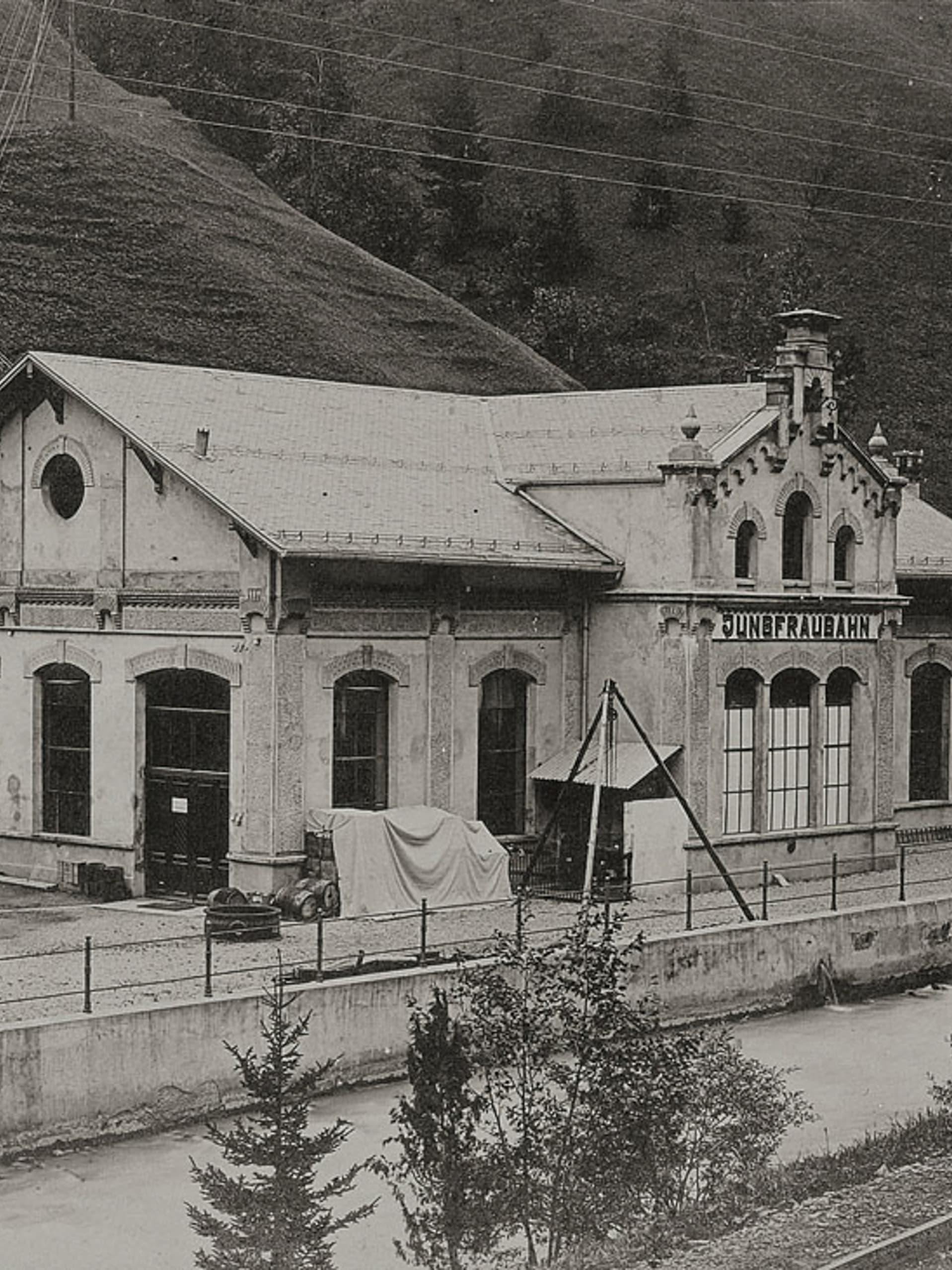 Bau der Jungfraubahn13