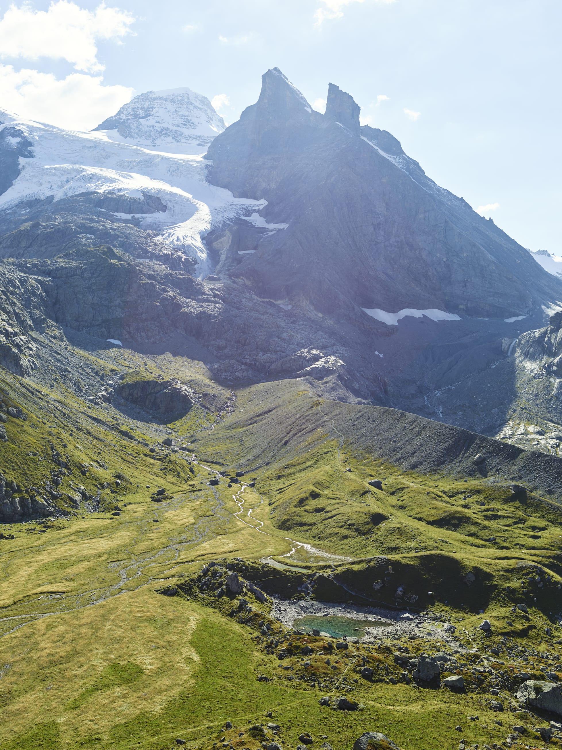 Oberhornsee Tschingelhorn Lauterbrunnental Sommer