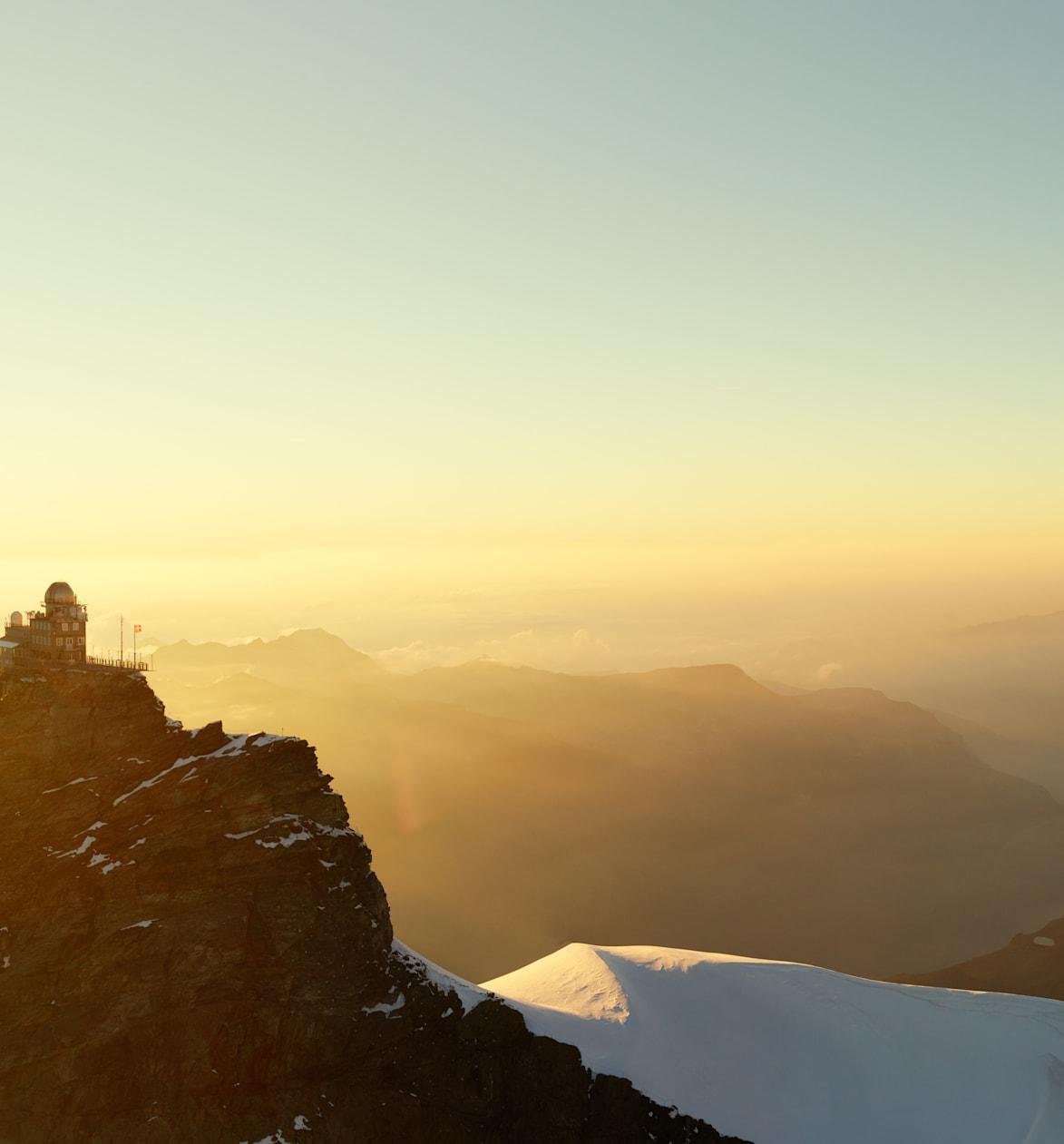 Jungfraujoch Sphinx Panorama Aussicht