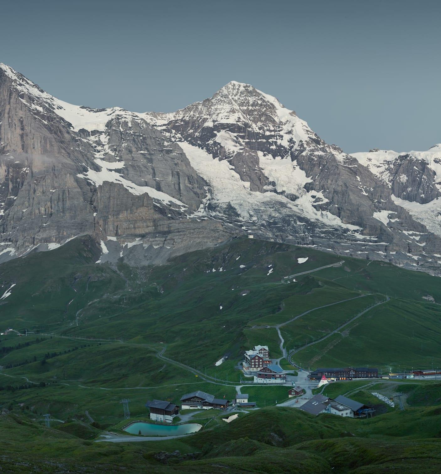 Kleine Scheidegg Sommer Eiger Moench Jungfrau