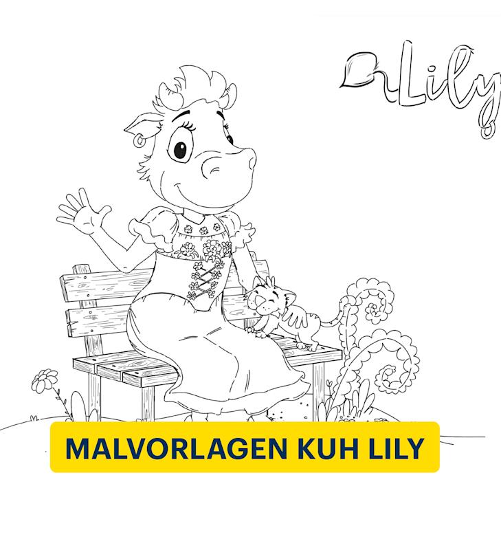 Malvorlagen Kuh Lily Schynige Platte