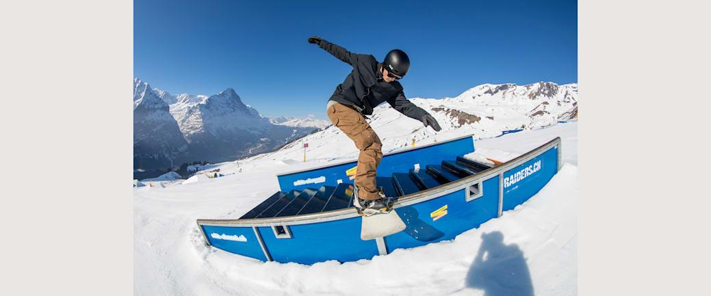 Michael Scharer Snowpark Grindelwald First