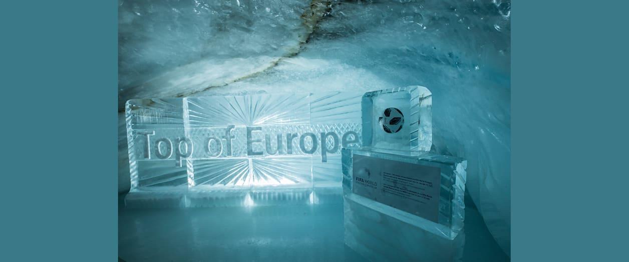 WM Ball im Eispalast auf dem Jungfraujoch
