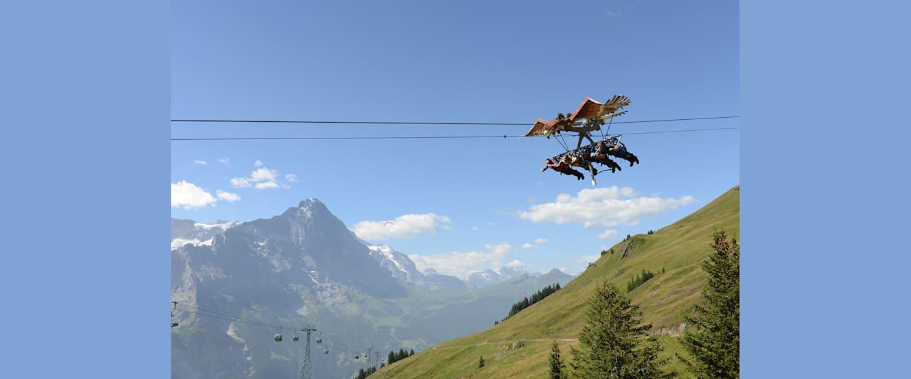 1 Glider Eiger First