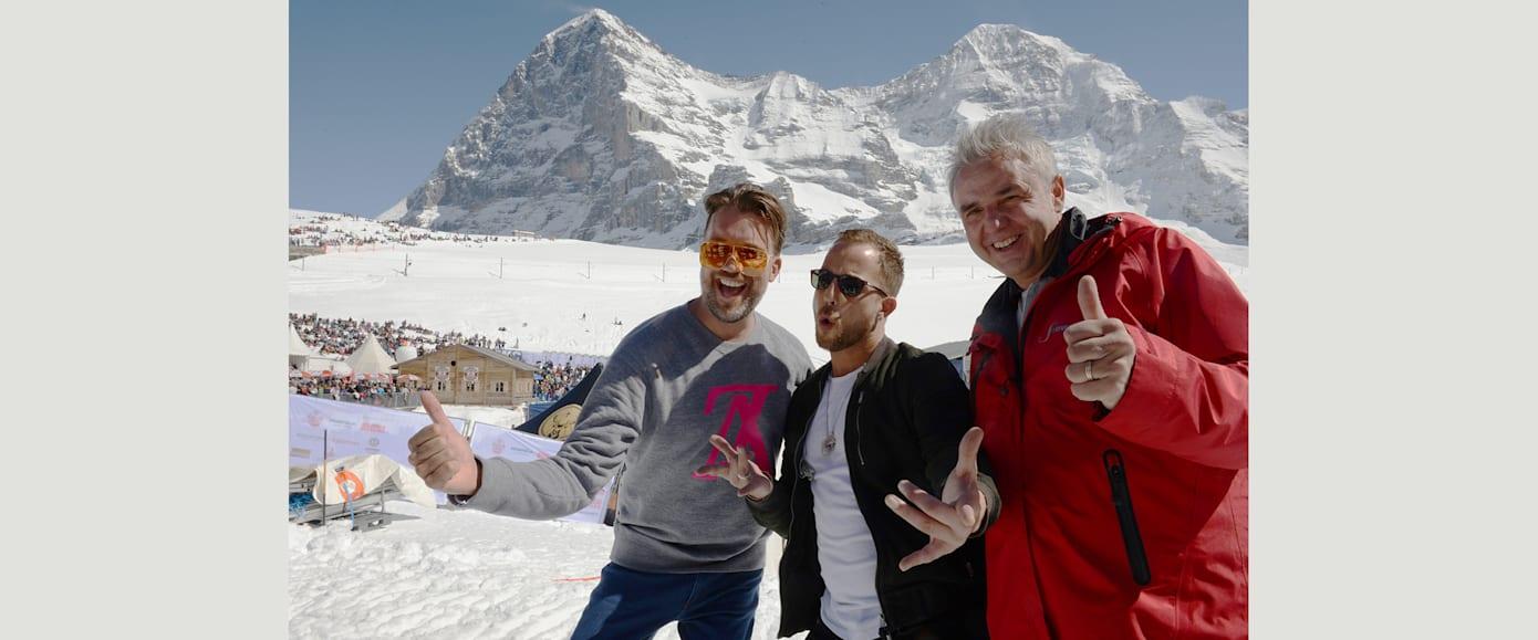 DJ Antoine James Morrison und Urs Kessler