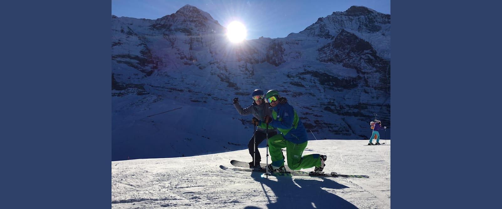 Perfekte Verhaeltnisse bereits zum Saisonstart am 18 November in Grindelwald Wengen