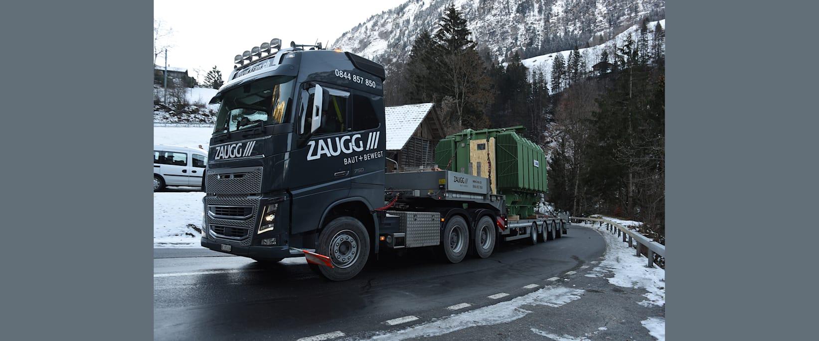 Trafo auf der Anfahrt nach Grindelwald