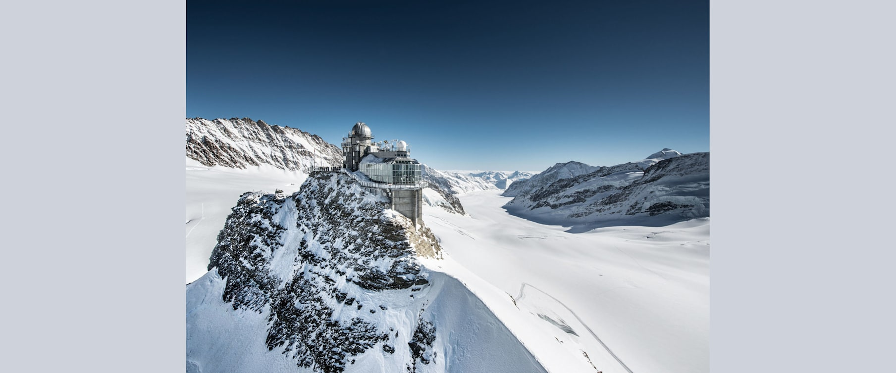 Sphnix aletschgletscher jungfraujoch top of europe