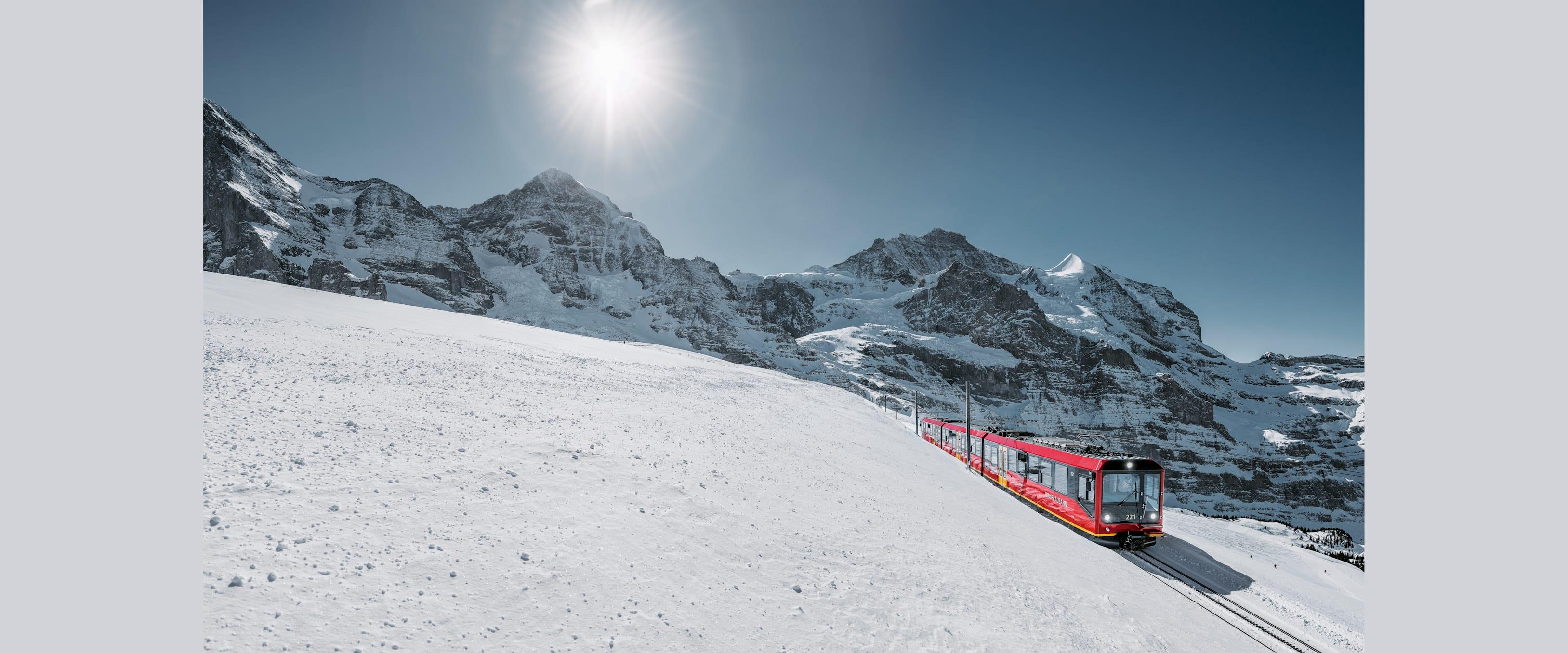 Jungfraubahn Winter