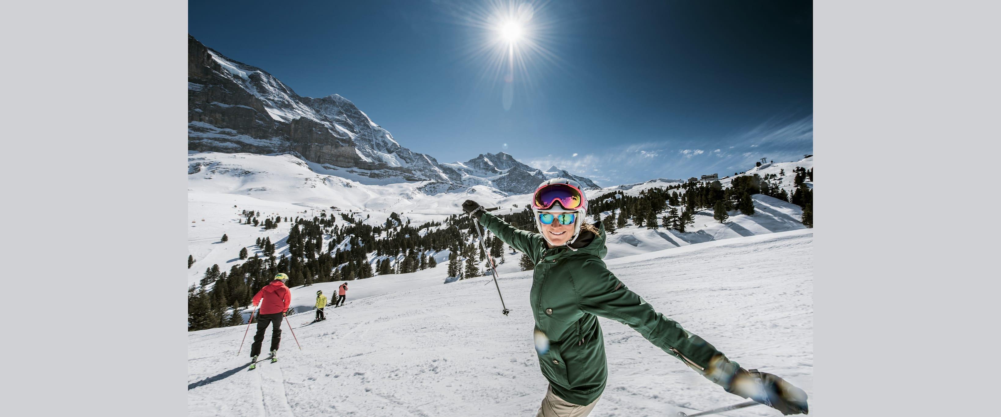 Wintersport Kleine Scheidegg