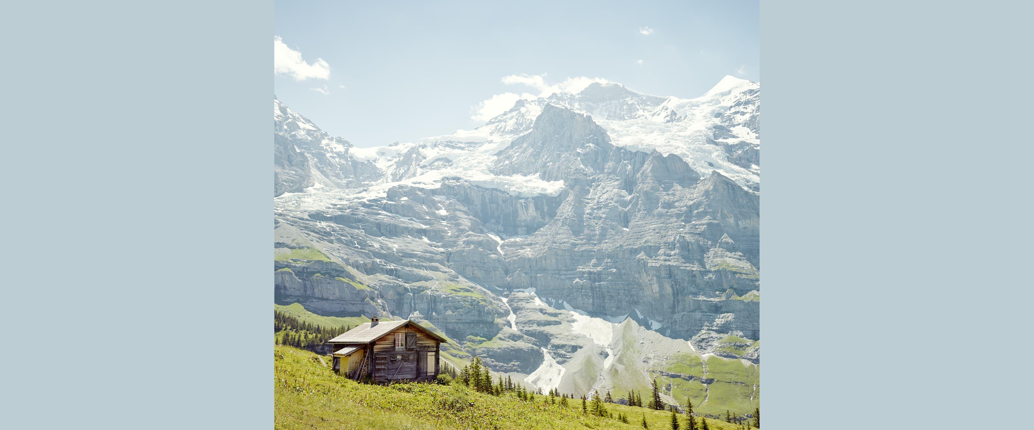 Kleine Scheidegg Alp Gletscher Jungfraujoch Sommer