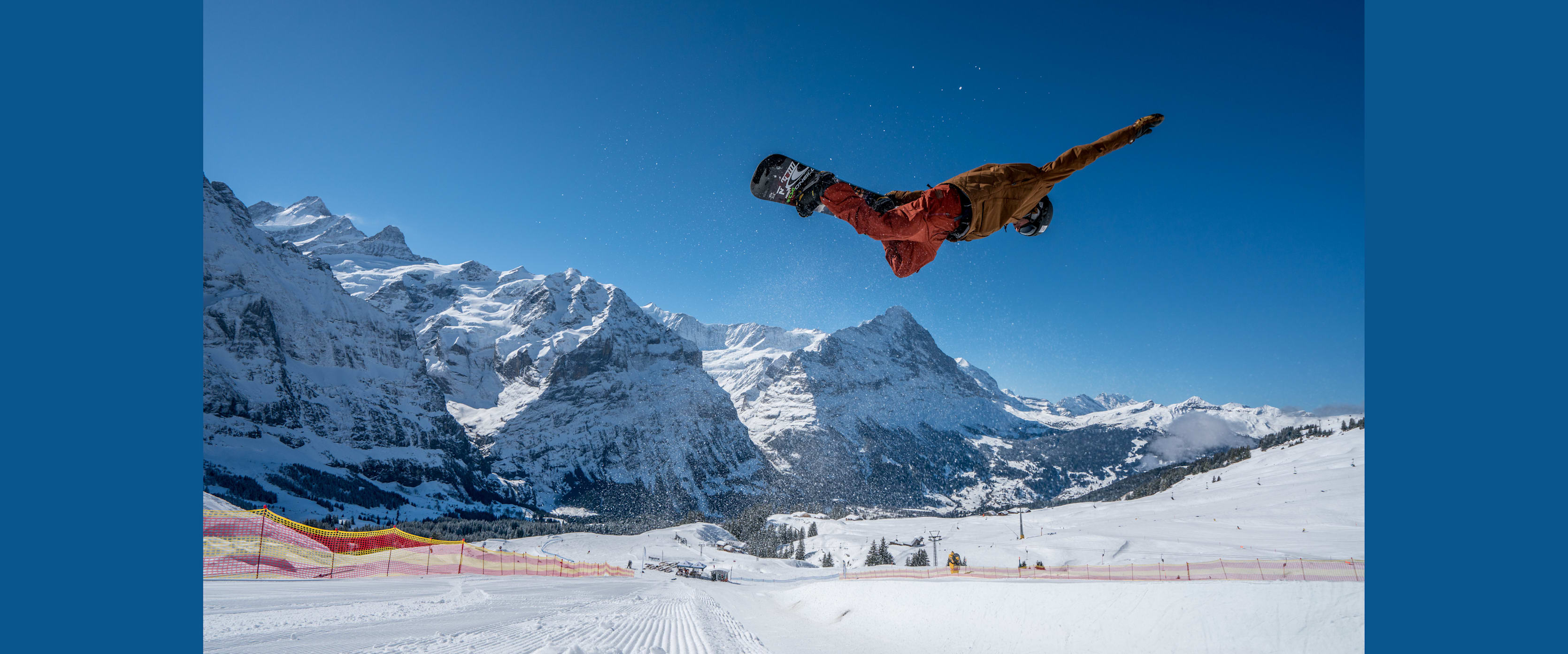 White Elements Snowpark Grindelwald First