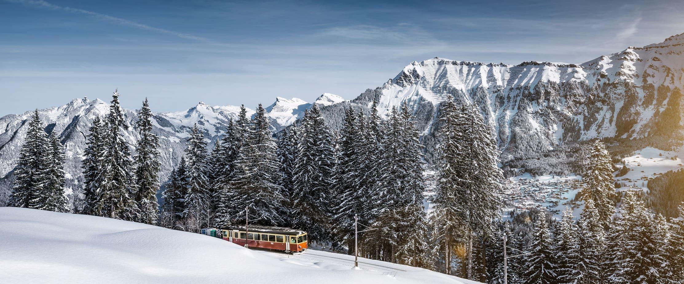 Jungfrau BLM bergbahn lauterbrunnen muerren