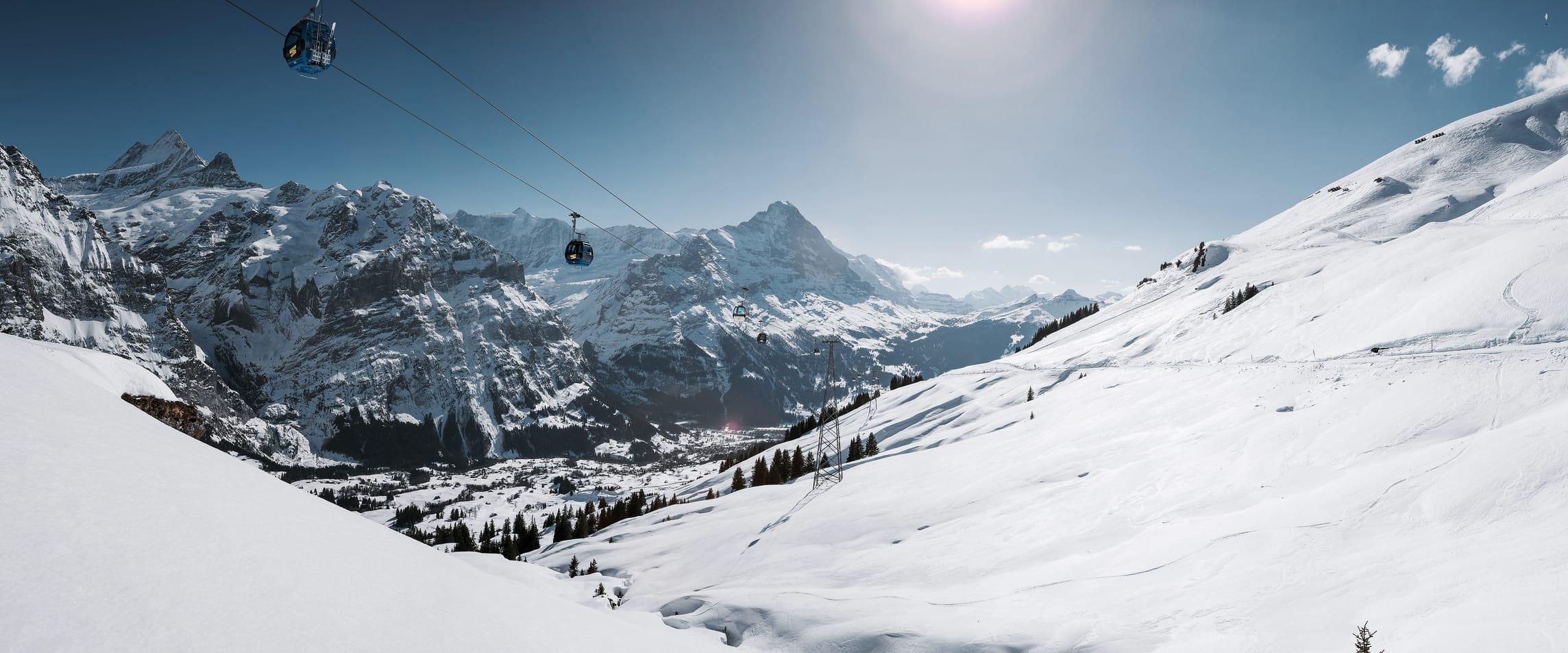 Jungfrau firstbahn eiger grindelwald first