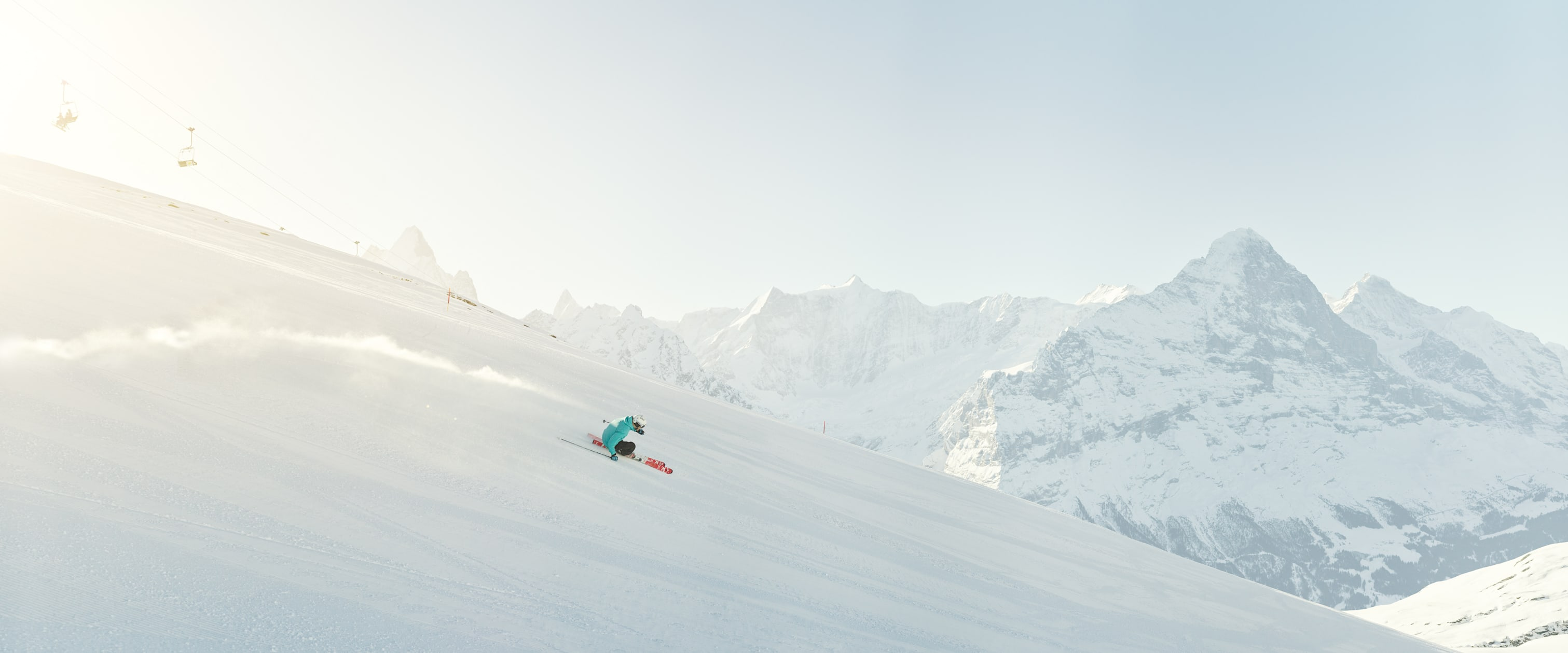 Grindelwald-First skiing