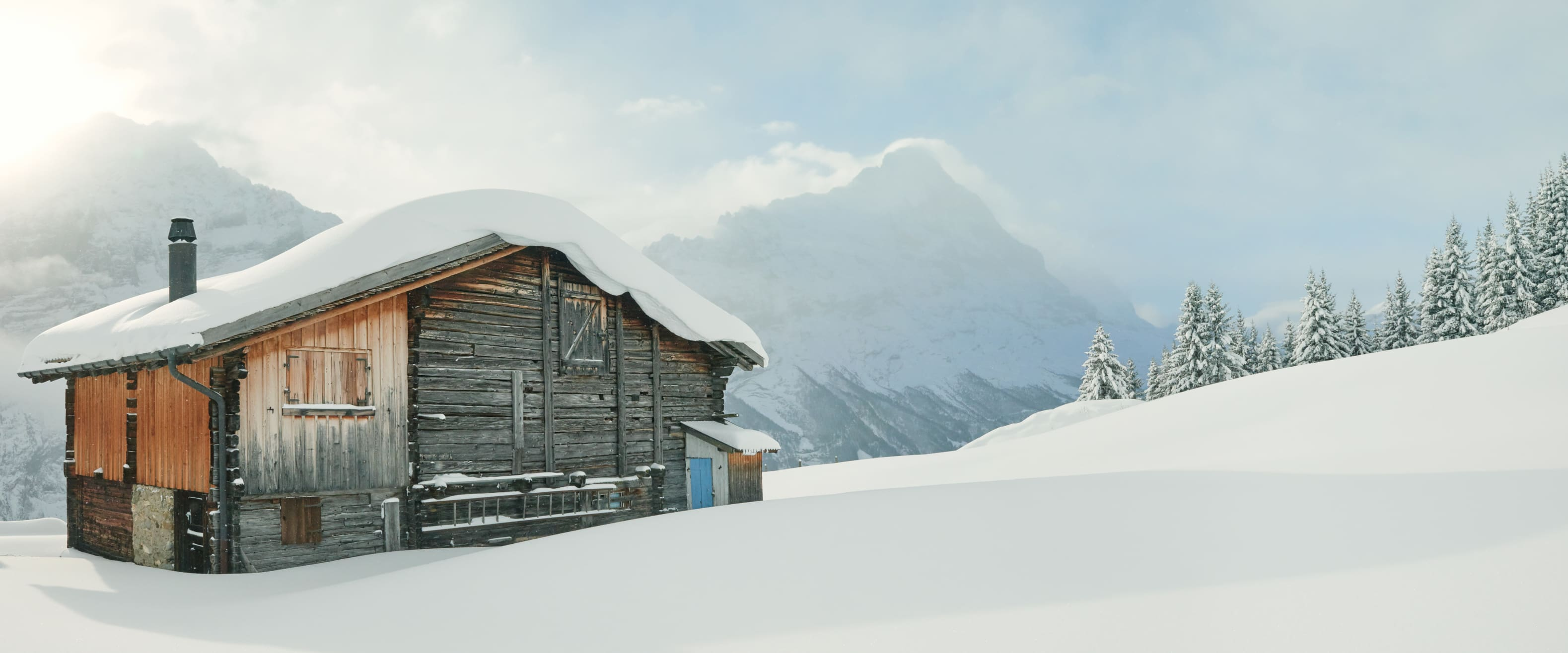 Grindelwald First Winter Alphuette Eiger