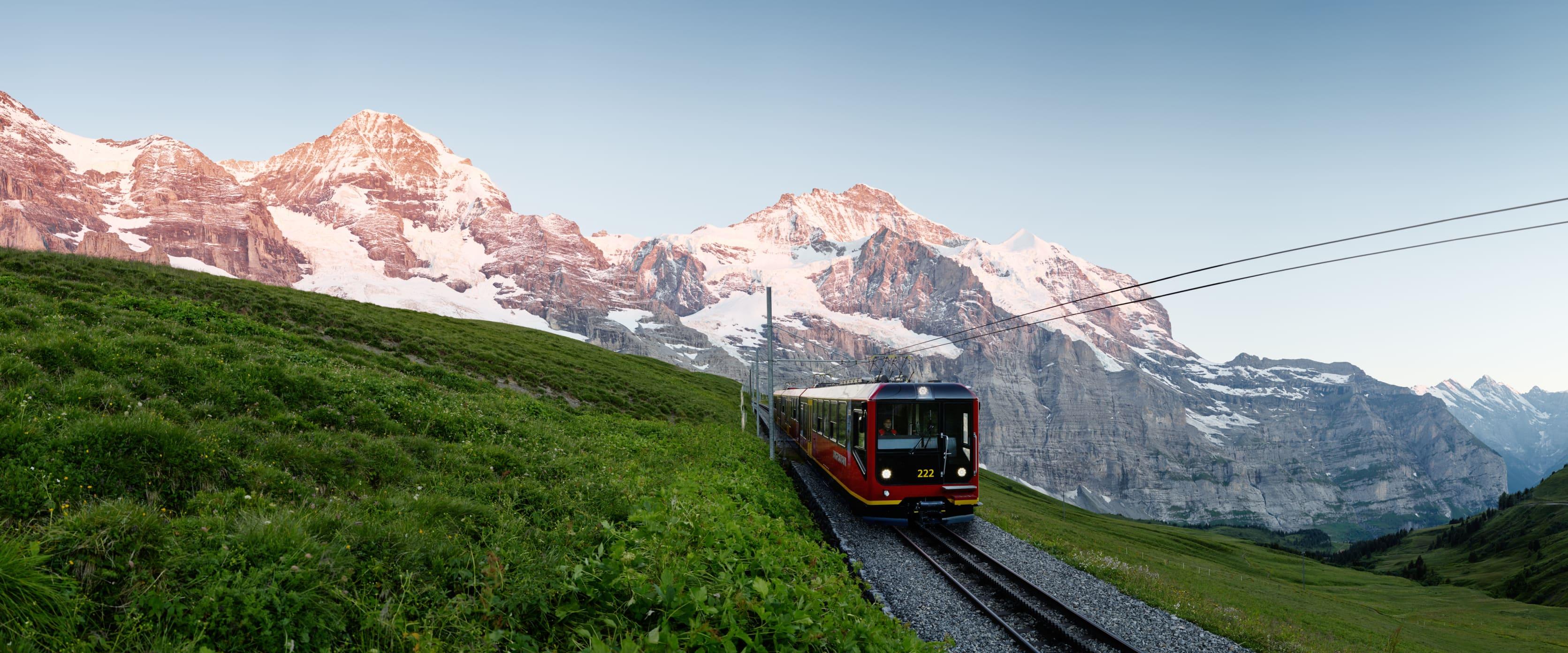 Jungfraubahn Eiger Moench Jungfrau Alp